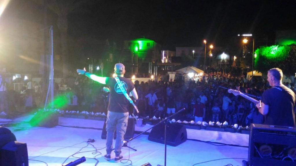 notte bianca 2016 palco retro