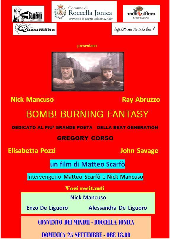 boom burning fantasy roccella