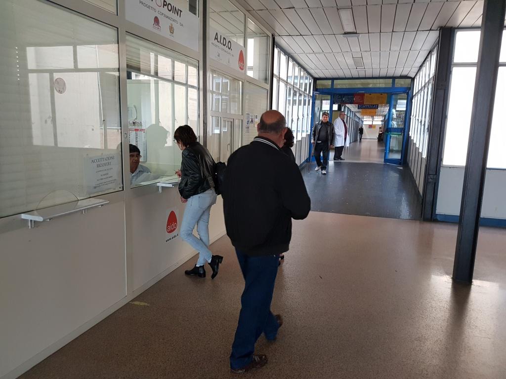 ospedale di locri corridoio