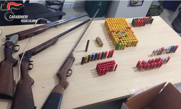 Cimin sequestrati fucili carabina e munizioni telemia for Fucili arredamenti