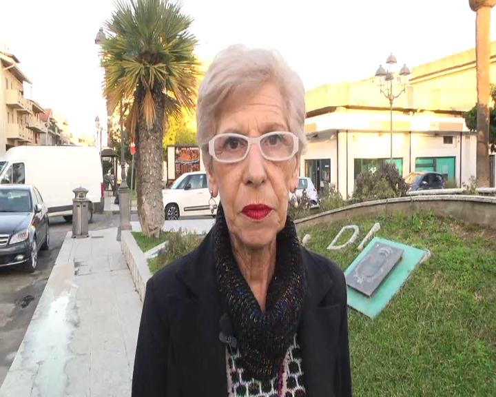 Il presidente del comitato Osservatorio Cittadino sui rifiuti di Siderno Maria Rosaria Tino Puntillo
