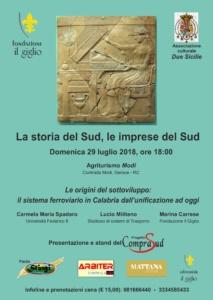MODI DI GERACE (RC): LA STORIA E LE IMPRESE DEL SUD – SERATA COMPRASUD @ Agriturismo Modi