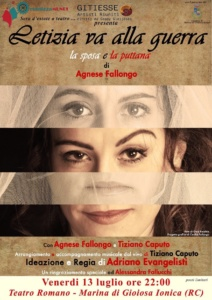"""Sera d'estate a teatro"""" 13 luglio @ Teatro Romano"""