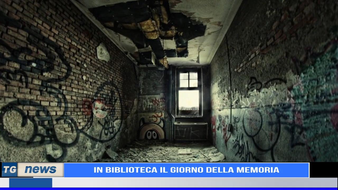 IN BIBLIOTECA IL GIORNO DELLA MEMORIA